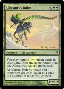 Allosaurus Rider - Foil - Prerelease Promo