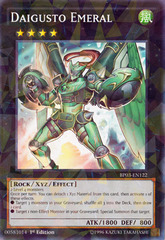 Daigusto Emeral - BP03-EN122 - Shatterfoil - 1st Edition on Channel Fireball