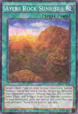 Ayers Rock Sunrise - BP03-EN183 - Shatterfoil - 1st Edition