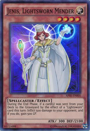 Jenis, Lightsworn Mender - AP05-EN005 - Super Rare - Unlimited Edition