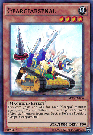 Geargiarsenal - AP05-EN006 - Super Rare - Unlimited Edition