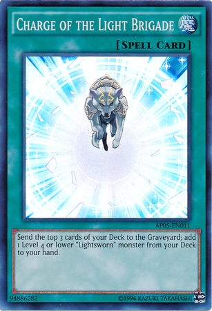 Charge of the Light Brigade - AP05-EN011 - Super Rare - Unlimited Edition