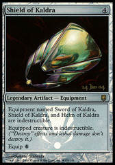 Shield of Kaldra - Foil - Prerelease Promo