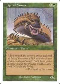 Spined Wurm - Book Promo