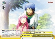 A Girl's Ultimate Happiness - AB/W31-E054 - CC