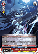 Highly Skilled Shiina - AB/W31-E066 - R