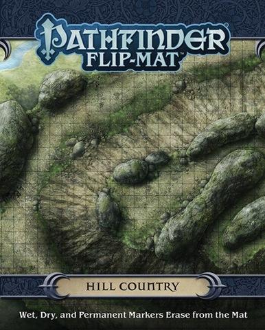 Pathfinder RPG (Flip-Mat) - Hill Country