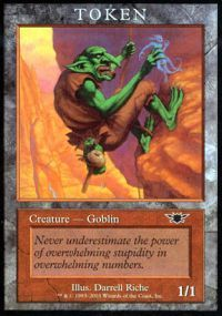 Goblin Token - Legions (Player Rewards)