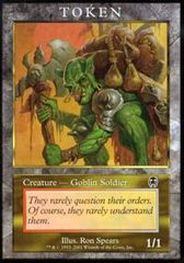 Goblin Soldier Tokens - Apocalypse (Player Rewards) on Channel Fireball