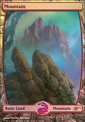 Mountain - Extended Art (Judge Foil)