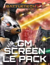 BattleTech: A Time of War: GM Screen (Bundle Std & LE)