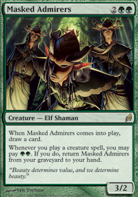 Masked Admirers