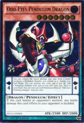 Odd-Eyes Pendulum Dragon - DUEA-EN004 - Ultimate Rare - 1st Edition