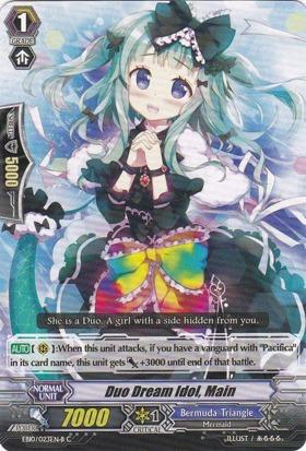 Duo Dream Idol, Main - Black - EN10/023EN-B - C