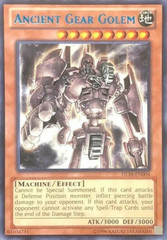 Ancient Gear Golem - Blue - DL18-EN004 - Rare - Unlimited Edition