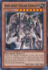 Ancient Gear Golem - Green - DL18-EN004 - Rare - Unlimited Edition