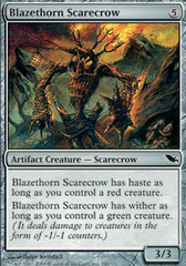 Blazethorn Scarecrow on Channel Fireball