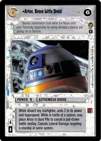 Artoo, Brave Little Droid (alt.)