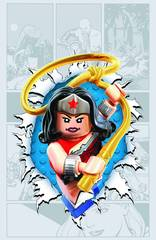 Wonder Woman #36 Lego Var Ed
