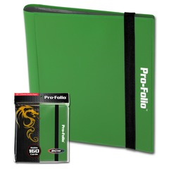 BCW Pro-Folio 4-Pocket - Green