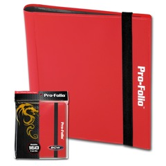 BCW Pro-Folio 4-Pocket - Red