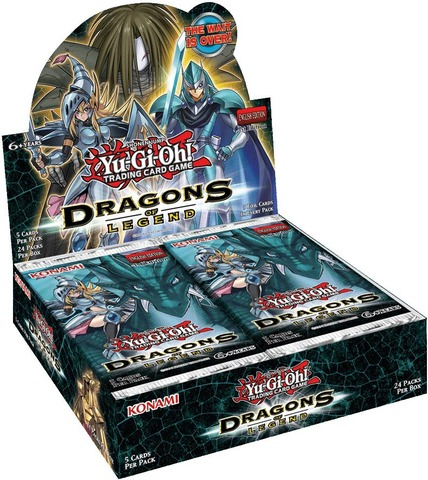 Dragons of Legend Unlimited Edition Booster Box