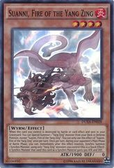 Suanni, Fire of the Yang Zing - DUEA-EN028 - Super Rare - Unlimited Edition