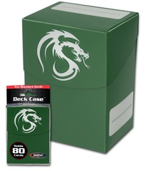 BCW - Deck Case 80ct - Green