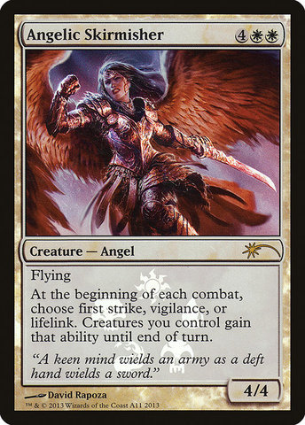 Angelic Skirmisher - Resale Promo