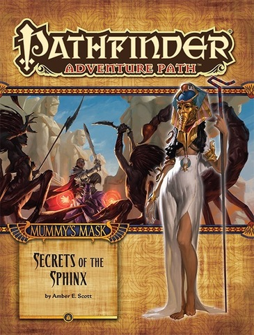 Pathfinder Adventure Path #82: Secrets of the Sphinx (Mummys Mask 4 of 6)