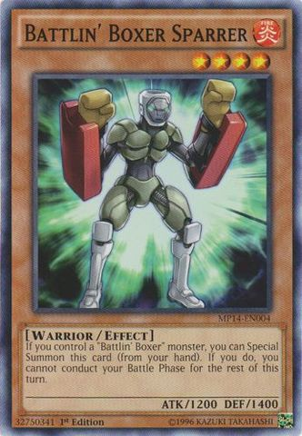Battlin Boxer Sparrer - MP14-EN004 - Common - 1st Edition