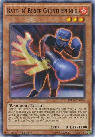 Battlin Boxer Counterpunch - MP14-EN006 - Common - 1st Edition