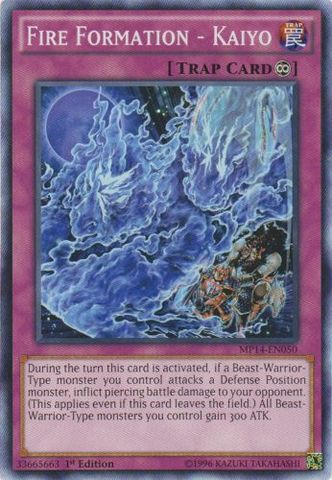 Fire Formation - Kaiyo - MP14-EN050 - Common - 1st Edition