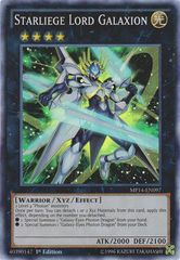 Starliege Lord Galaxion - MP14-EN097 - Super Rare - 1st Edition