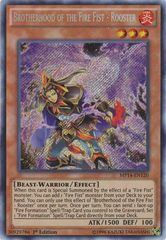 Brotherhood of the Fire Fist - Rooster - MP14-EN120 - Secret Rare - 1st Edition