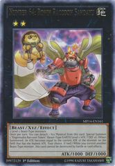 Number 64: Ronin Raccoon Sandayu - MP14-EN161 - Rare - 1st Edition