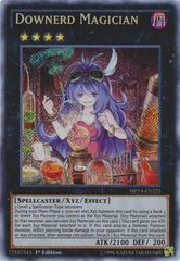Downerd Magician - MP14-EN225 - Secret Rare - 1st Edition