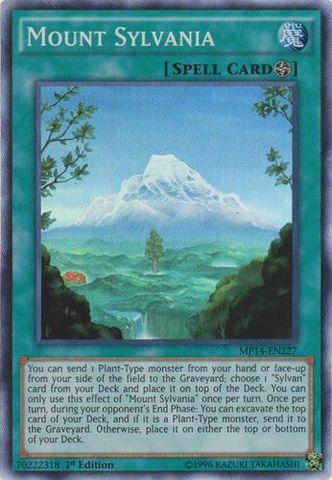 Mount Sylvania - MP14-EN227 - Super Rare - 1st Edition