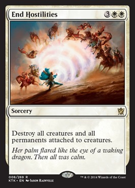 End Hostilities - Foil