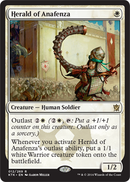 Herald of Anafenza - Foil