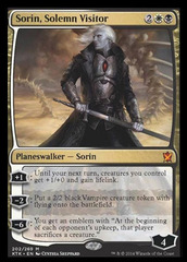 Sorin, Solemn Visitor on Channel Fireball
