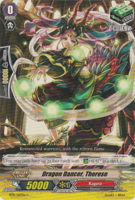 Dragon Dancer, Therese - BT15/067EN - C