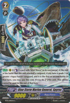Blue Storm Marine General, Spyros - BT15/085EN - C