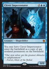 Clever Impersonator - Foil on Channel Fireball