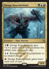 Savage Knuckleblade - Foil