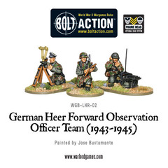 Bolt Action: German Heer Forward Observation Officer Team