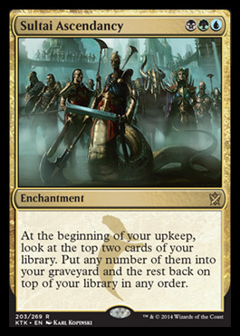 Sultai Ascendancy - Foil
