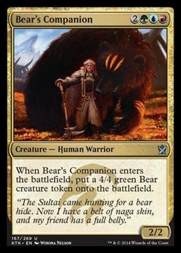 Bears Companion