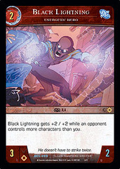Black Lightning, Energetic Hero - Foil