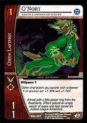 G'Nort, Green Lantern of G'Newt - Foil